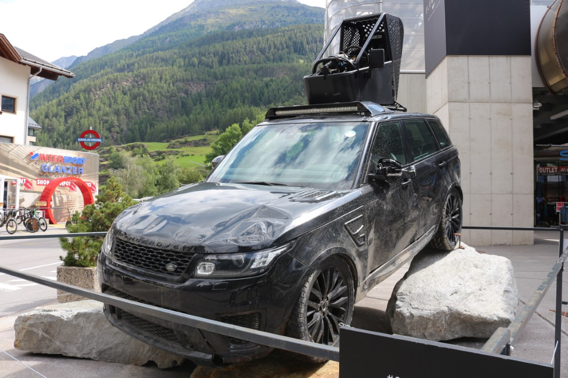 Sölden - James Bond Filmauto