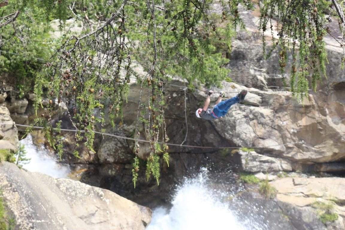 Stuibenfall - Klettersteig